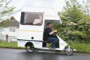 Camper a pedali