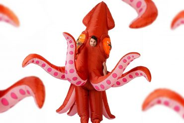 Costume da calamaro