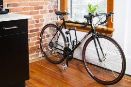 Mini gancio da parete per bici