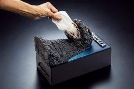 Godzilla dispenser di fazzoletti