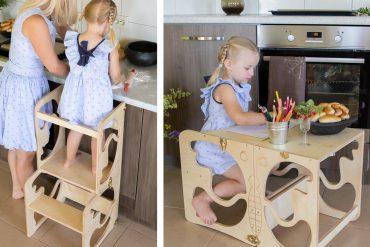Tavolino/scaletta per bambini