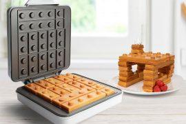Waffle in stile LEGO