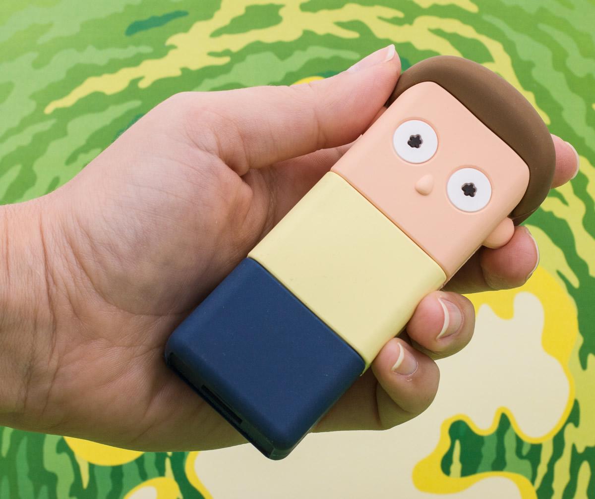Batterie portatili Rick e Morty