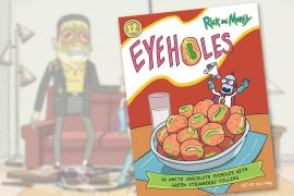Dolcetti Rick and Morty Eyeholes