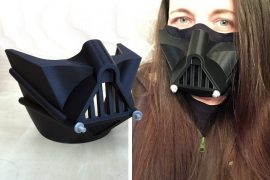 Copri mascherina Darth Vader