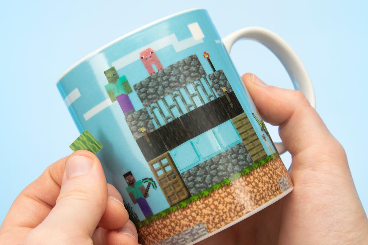 Mug personalizzabile Minecraft