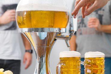 Dispenser refrigerante per birra