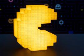 Lampada di Pac-Man 8-bit
