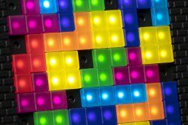 Lampada Tetris Tetramino