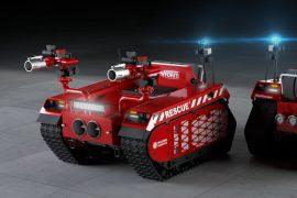 Robot vigili del fuoco