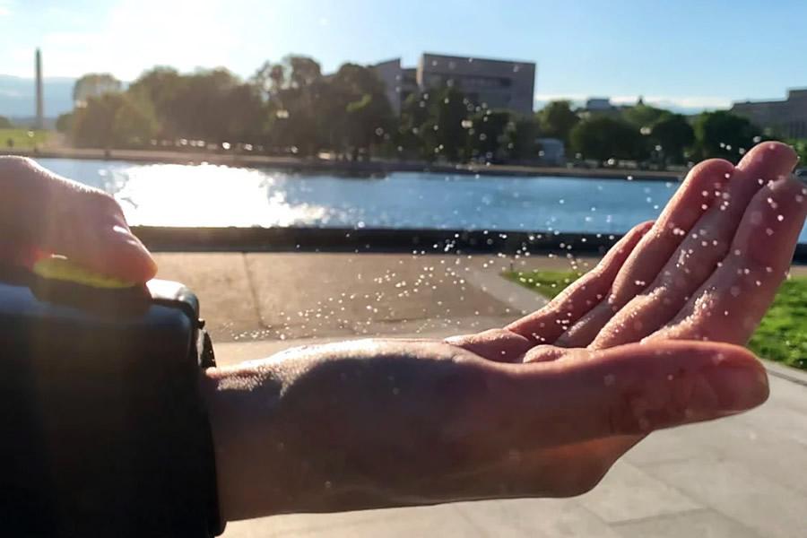 Igienizzante per mani di Spider-Man