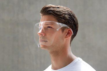 Maschera proteggi viso