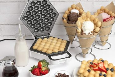 Piastra per waffle a bolle
