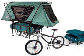 Carrello tenda per biciclette