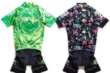 Abbigliamento per ciclisti Rick and Morty
