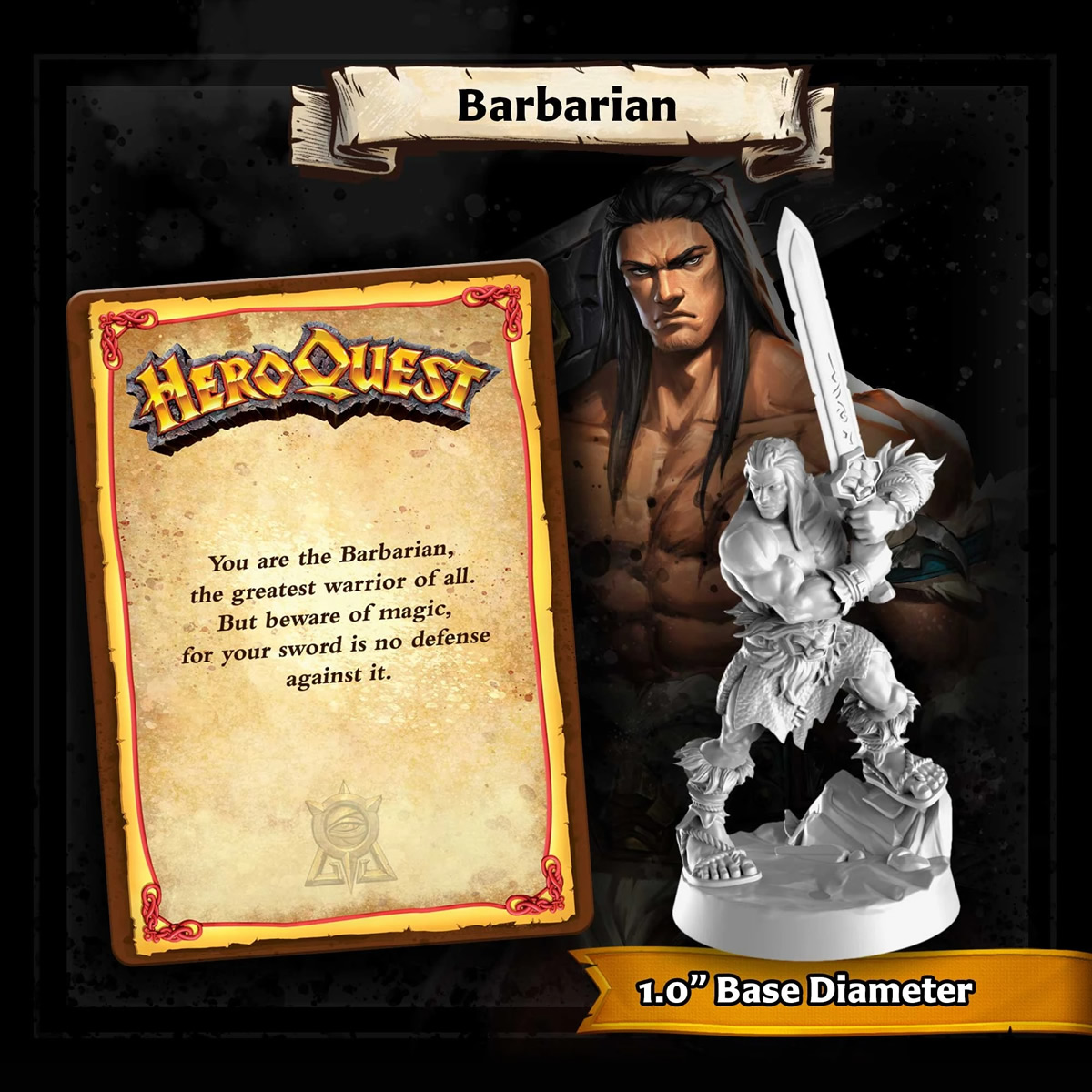 HeroQuest - Barbaro