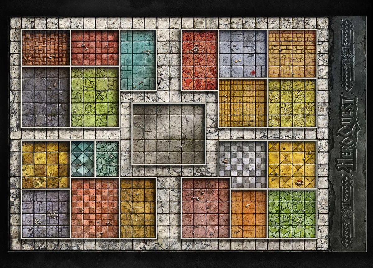 HeroQuest - Tabellone