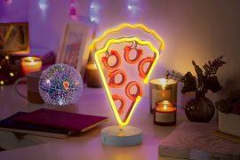 Pizza al neon