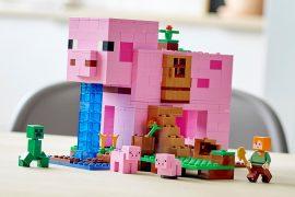 Pig House LEGO Minecraft