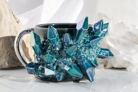 Mug con cristalli