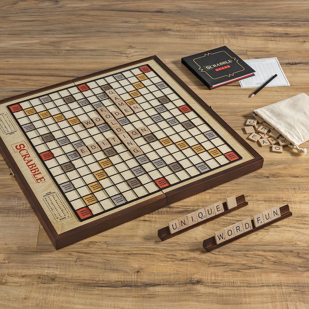 Scrabble pieghevole