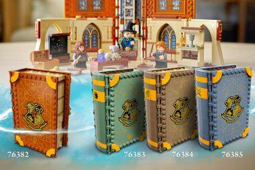 Set LEGO libri di Hogwarts