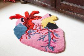 Tappeto cuore anatomico