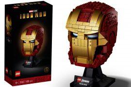 Elmo di Iron Man LEGO