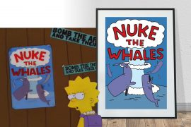 Poster Nuke the Whales