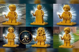 Minifigure oro di LEGO Harry Potter