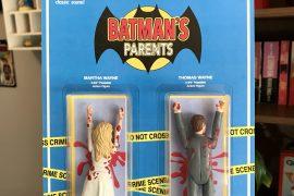 Action figure genitori di Batman