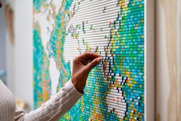 Mappa del Mondo LEGO