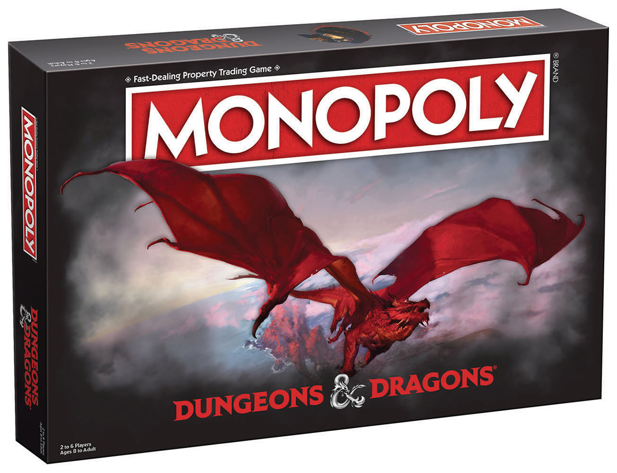Scatola Monopoly Dungeons&Dragons