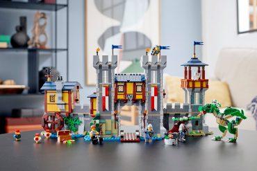 Castello medievale LEGO