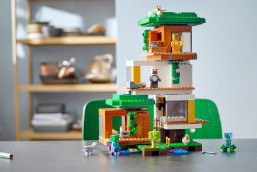 Casa sull'albero moderna LEGO Minecraft