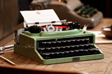 Macchina da scrivere LEGO