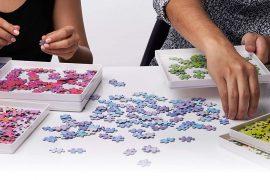 Organizer per puzzle