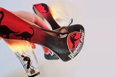 Scarpe col tacco Jurassic Park
