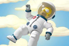 Action Figure Homer Astronauta