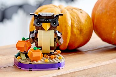 Civetta di Halloween LEGO