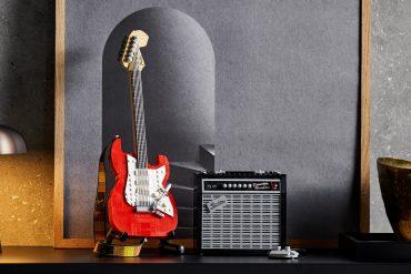 Fender Stratocaster LEGO