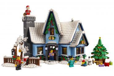 La visita di Babbo Natale LEGO