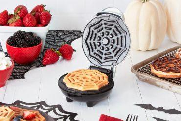 Piastra per waffle ragnatela